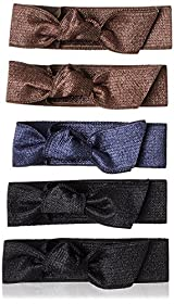 Emi-Jay Set of 5 Hair Ties, Classic
