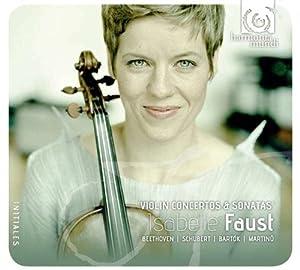 Faust isabelle. solo violino ! Bartòk, beethoven, martinu & schubert