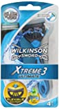 Wilkinson Xtreme 3 Ultimate 4 Rasoirs Jetables