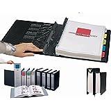 SpringPost 2'' black binder by Itoya - 8.5x11