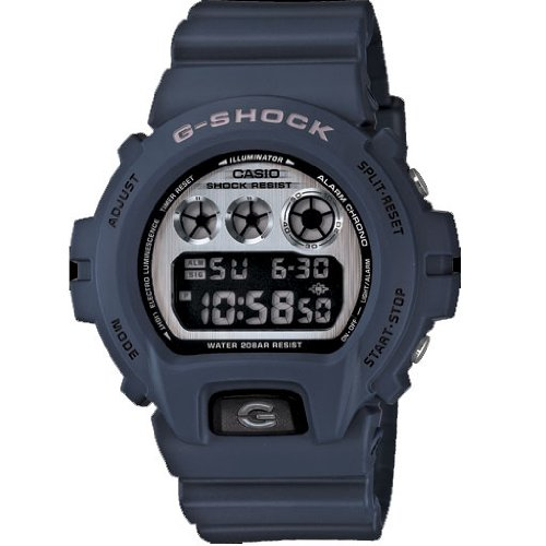 Casio Dw-6900Hm-2Cr G-Shock Resistant Digital Dial With Resin Strap Watch