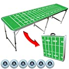 GoPong 8' Portable Tailgate / Pong Table (Includes 6 pong balls)