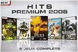 echange, troc Hits premium 2008 - coffret 5 jeux complets