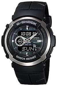 CASIO カシオ G-SHOCK Gショック ジーショック Gスパイク 黒 ブラック 緑 G-300-3AV 海外モデル メンズ 腕時計 男性用 時計 ウォッチ 【逆輸入品】
