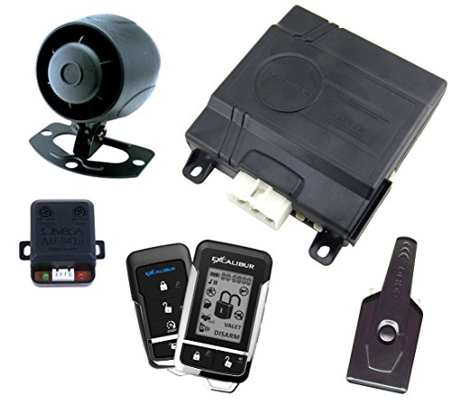 Excalibur (AL1860EDPB) Deluxe 2-Way Vehicle Security and Remote Start System (Omega 2 Way Alarm compare prices)