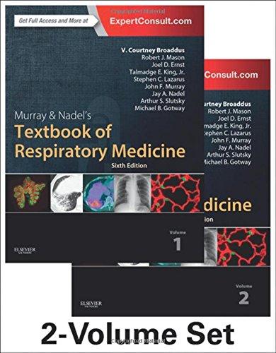 Murray & Nadel's Textbook of Respiratory Medicine, 2-Volume Set, 6e