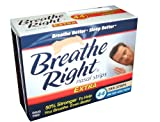Breathe Right Extra Strong, One Size Fits All Nasal Strips, 44 Count - Tan