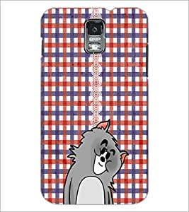 PrintDhaba Kitty D-3059 Back Case Cover for SAMSUNG GALAXY S5 (Multi-Coloured)