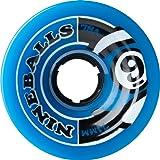 Sector 9 Top Self Nine Balls Skateboard Wheel, Blue, 74mm 78A by Sector 9