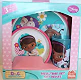 Doc McStuffins 3 pc Mealtime Set (plate, bowl, cup) by zak!