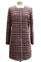 Milly Couture Tweed Anabelle Coat in Multi
