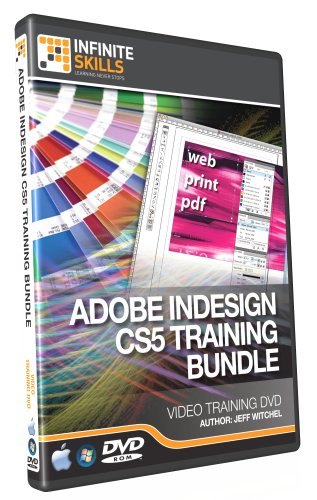 Adobe InDesign CS5 Training DVD - Discounted Bundle