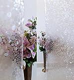 Verre Static Decorative Frosted Window glass film (135cms X 90cms) DGF-ML007