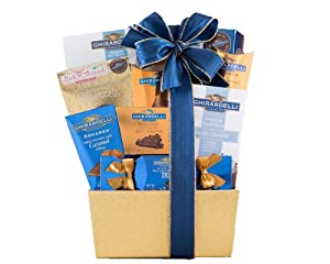 Wine Country Gift Baskets Ghirardelli Surprise