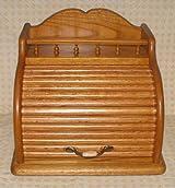 Roll Top Bread Box (Golden Oak)