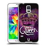 img - for Head Case Designs Your Next Queen Crown Rebel Soft Gel Back Case Cover for Samsung Galaxy S5 book / textbook / text book