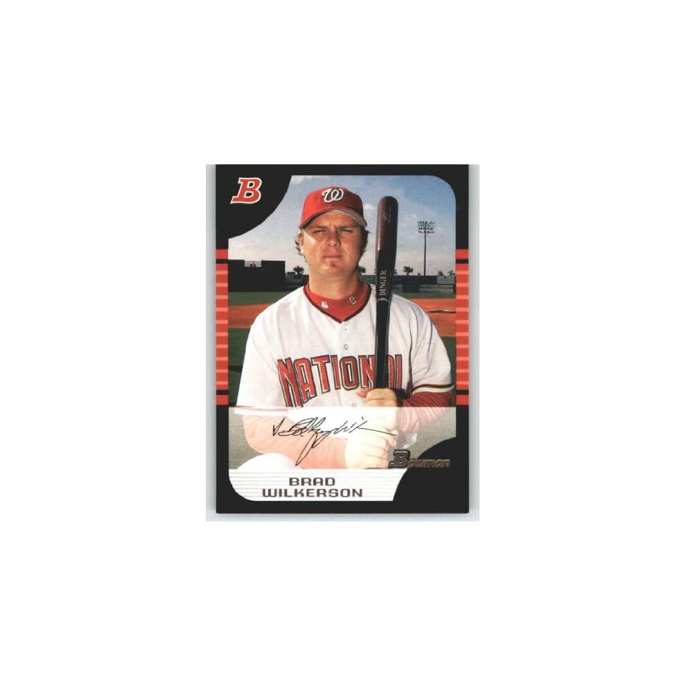 1e65730e2 2005 Bowman #116 Brad Wilkerson Montreal Expos (Baseball on PopScreen