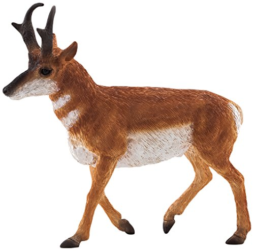 Mojo Fun 387116 Pronghorn Antelope - Realistic International Wildlife Toy Replica - New for 2013! - 1