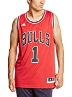 adidas Camiseta sin mangas Chicago Bulls Rose (Rojo / Blanco)