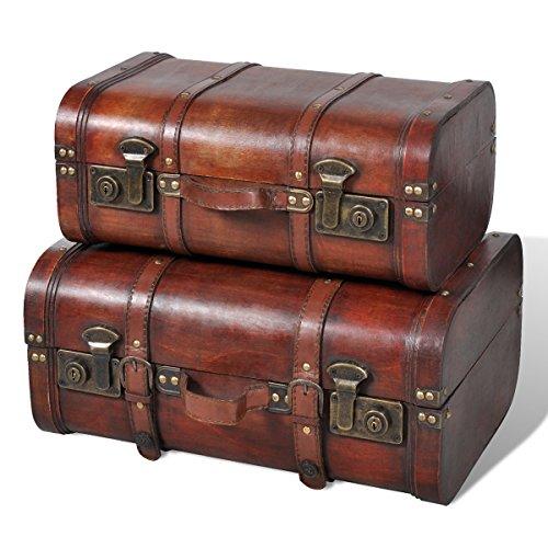 vintage-wooden-treasure-chest-brown-2-pcs