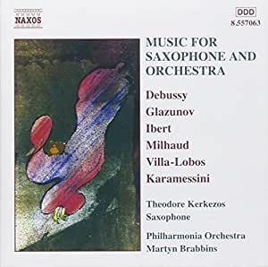 Music for Saxophone & Orchestra