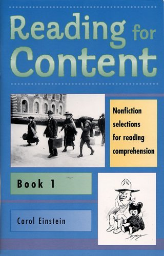 Reading for Content  Book 1 (Grade 3)