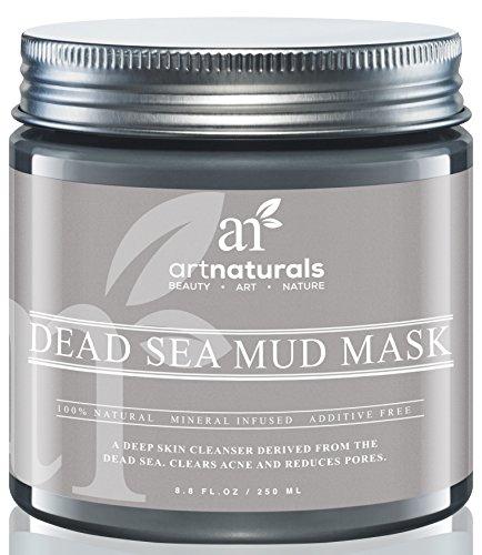 Art Naturals® Totes Meer Salz Schlamm Maske 259 ml, 100% Naturreine Tiefenreinigung für die Haut   gegen Akne   Hilft Poren & Falten zu Reduzieren   Ultimative Wellness Qualität   Angereichert mit Mineralien   Frei von chemischen Zusätzen thumbnail