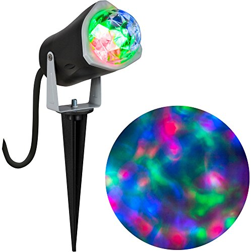 [Gemmy Lightshow Projection Fire and Ice (Red Green Blue) Halloween Decoration] (Fire And Ice Party Costumes)