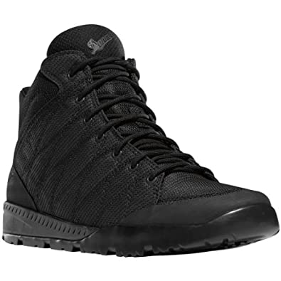 "Danner Men's Melee 6"" Black Work-Utility Boot 4 D"