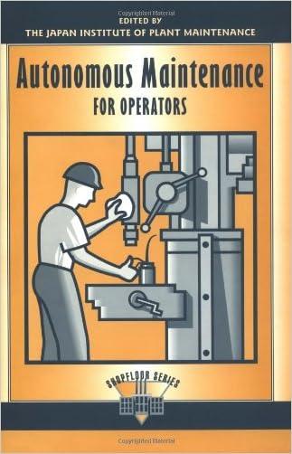 Autonomous Maintenance for Operators (The Shopfloor Series)
