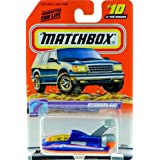 1999 - Mattel - Matchbox - #10 Of 100 Vehicles - Hydroplane - Ocean Explorer Edition - Series 2 - Bl