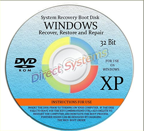 BOOT DISK for RESTORE & RECOVERY for WINDOWS XP 32