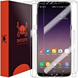 Galaxy S8 Screen Protector + Full Body , Skinomi TechSkin Full Coverage Skin + Screen Protector for Galaxy S8 Front & Back Clear HD Film