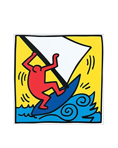 ArtopWeb Panel Decorativo Haring Untitled, 1987 40X40 cm