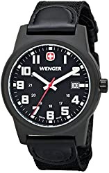 Wenger Men's Classic Field Watch with Nylon Bracelet
