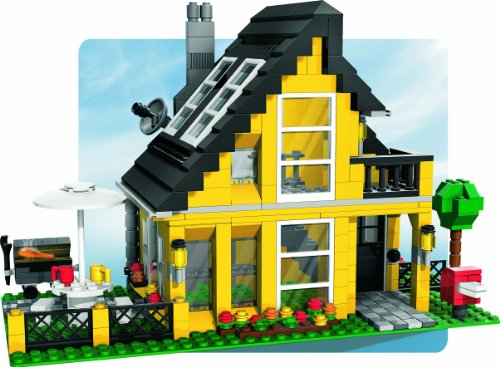 lego creator 4996 ferienhaus neu review kaufen 2018. Black Bedroom Furniture Sets. Home Design Ideas