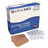 Dealmed Flexible Fabric Adhesive Bandages, 1