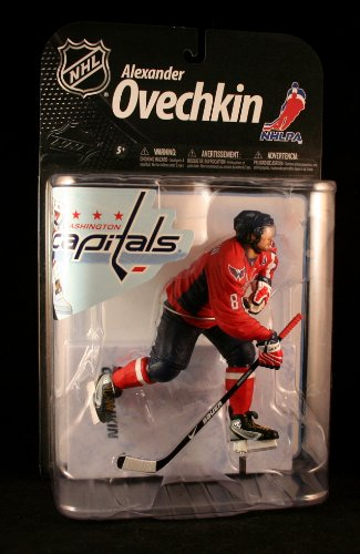 ALEXANDER OVECHKIN / WASHINGTON CAPITALS * RED JERSEY VARIANT * McFarlane's NHL Series 22 Sports Picks Figure at Amazon.com