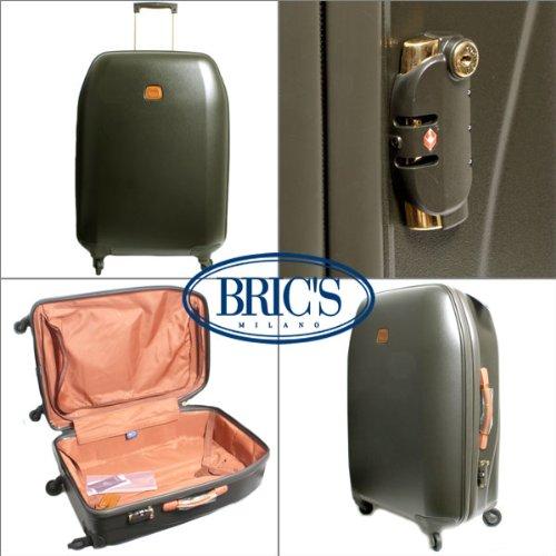 (ブリックス) BRIC'S SINTESIS シンテシス ポリカーボネートトローリー 70 CM BSI08192.278 オリーブ グリーン スーツケ...