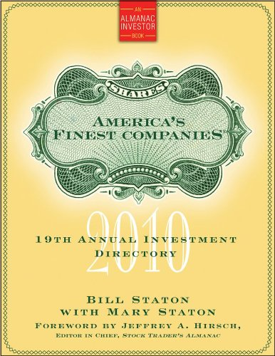 America's Finest Companies 2010: 19th Annual Investment Directory (Almanac Investor Series)