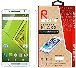 Raydenhy Premium Quality Tempered Glass For Motorola Moto X Play