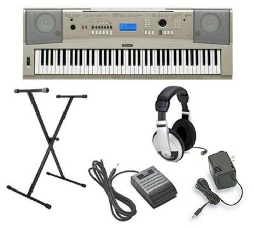 yamaha-ypg-235-5pc-ultra-premium-keyboard-package-with-headphones-stand-sustain-pedal-and-power-supp