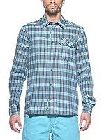 Salewa Camisa Hombre Pelusios Co M L/S (Azul)
