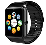 Generic Newest Wearable Bluetooth Smart Watch GT08 Smart Health Wrist Watch Phone Slot for Android Samsung HTC LG SONY HUAWEI(Full Functions) IOS iPhone 5/5s/6/plus