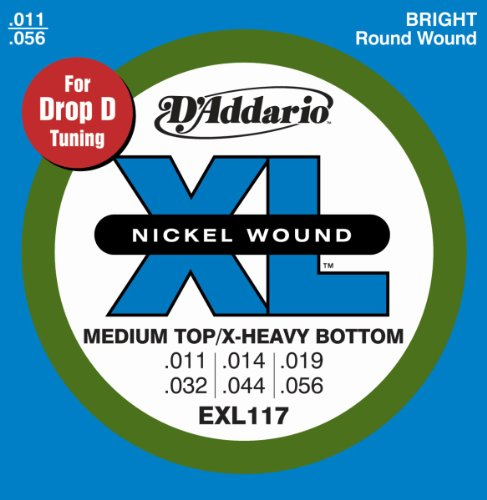 D'Addario EXL117 Nickel Wound Electric Guitar