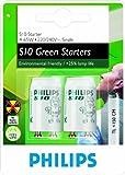 Philips 4-65W 220-240V S10 Fluorescent Tube Starters (2 Pack)