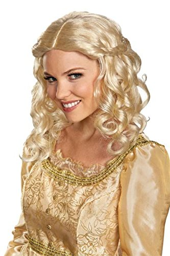 Disguise Women's Disney Maleficent Movie Aurora Adult Costume Wig, Blonde, One Size