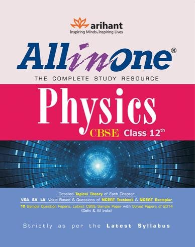 CBSE All in One Physics Class 12