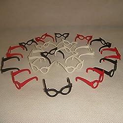 Generic 20pcs/Set Fashion Glasses for Doll Dolls Random Color