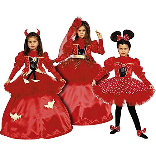 Girl's 3-in-1 Costume Dress Set (Size: 2T-4T)